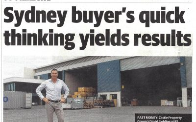 """Courier Mail – """"Prime Site"""" – An article about the sale of 85 Gosport Street, Hemmant"""